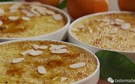 小小惹人愛!清新的柑橘焦糖布蕾誰會不愛呢?輕輕一敲,美味馬上就來!