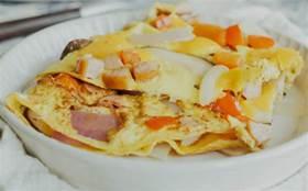想吃披薩又擔心長胖?教你做香菇煎蛋披薩!碳水超低還好吃……