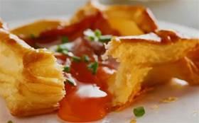 酥皮+流心!噴噴香的雞蛋撻上桌啦,鹹香酥脆,元氣滿滿!